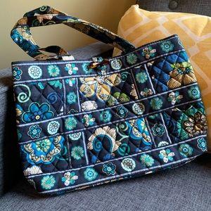 Vera Bradley blue floral purse. Never used.